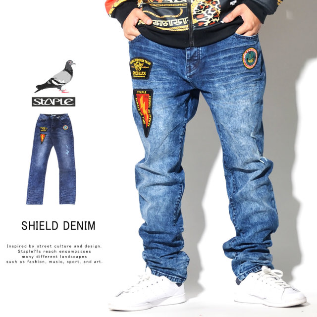 STAPLE ステイプル デニムパンツ SHILD DENIM 1909D5647