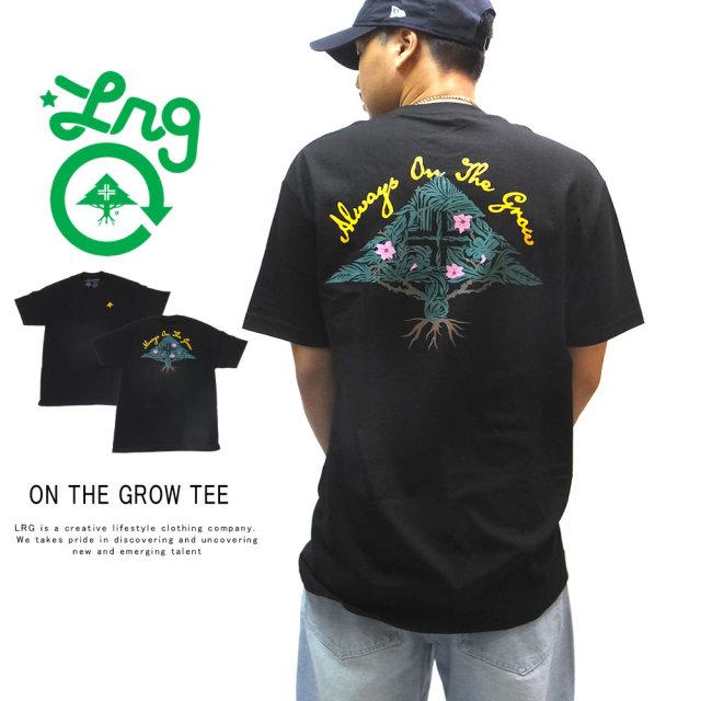 LRG エルアールジー 半袖Tシャツ ON THE GROW TEE J191099