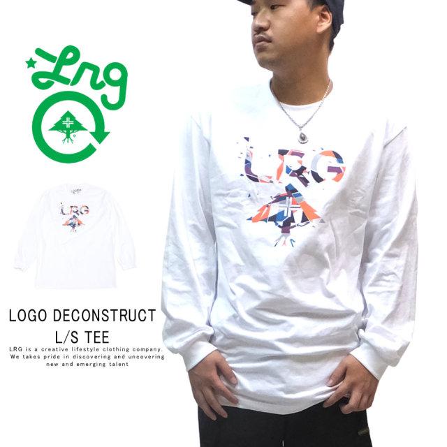 LRG エルアールジー 長袖Tシャツ LOGO DECONSTRUCT L/S TEE K191006