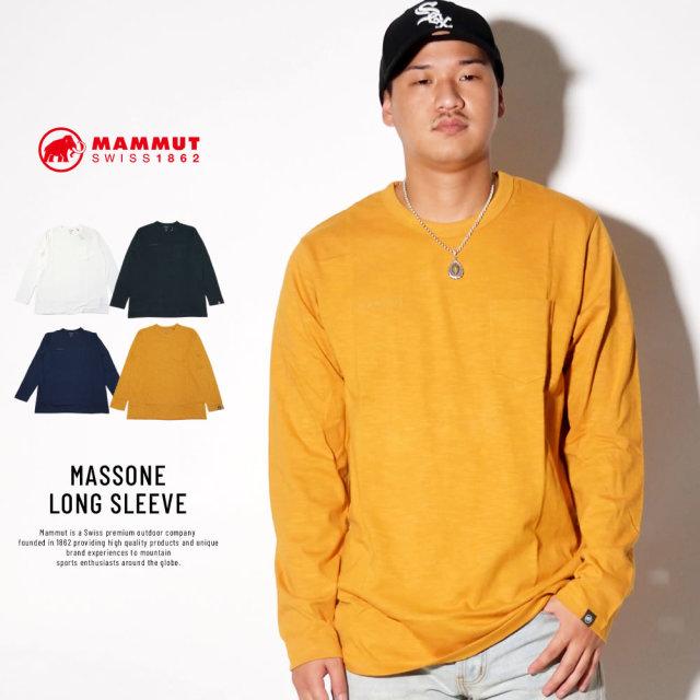 MAMMUT マムート 長袖Tシャツ MASSONE LONG SLEEVE 1016-00051