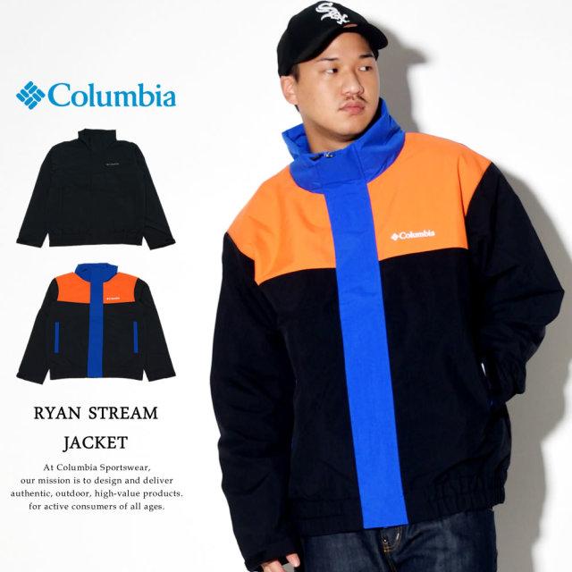 COLUMBIA コロンビア 中綿ジャケット スタンドカラー ジャケット RYAN STREAM JACKET PM5725