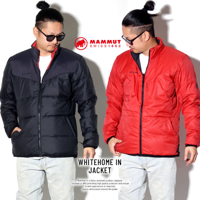 MAMMUT マムート リバーシブルダウンジャケット WHITEHOME IN JACKET AF MEN 1013-01060