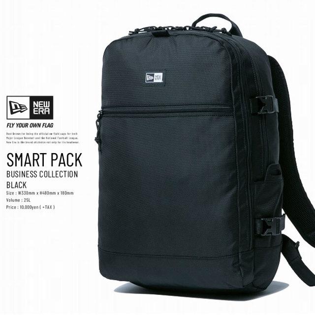 New Era (ニューエラ) バックパック BUSINESS SMART PACK 26L ブラック (11901485)