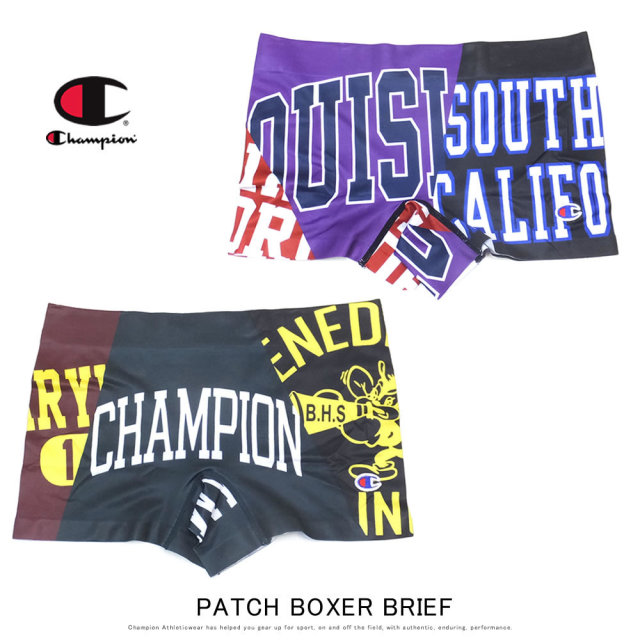 CHAMPION チャンピオン ボクサーブリーフ PATCH BOXER BRIEF CM6-Q104