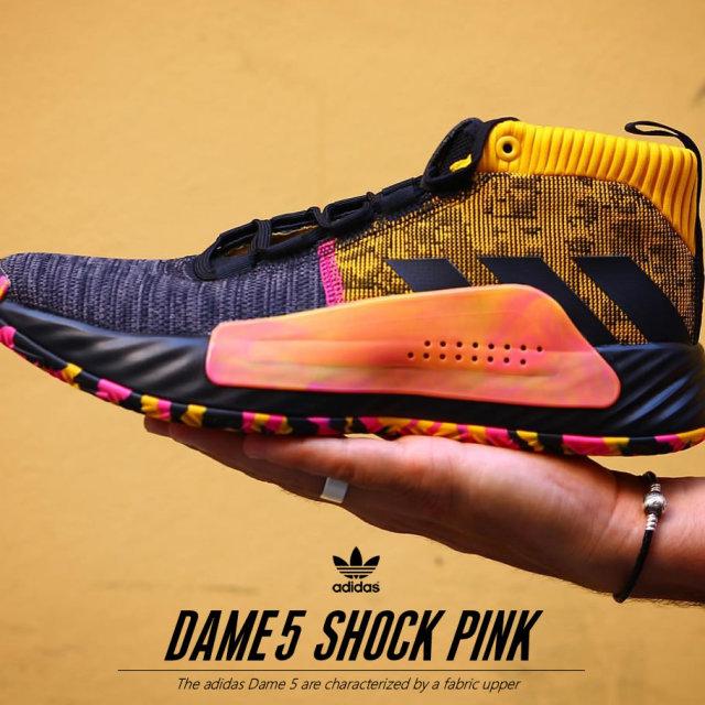 adidas アディダス DAME 5 スニーカー メンズ 大きいサイズ ストリート系 スポーツ ファッション EF9367 靴 通販