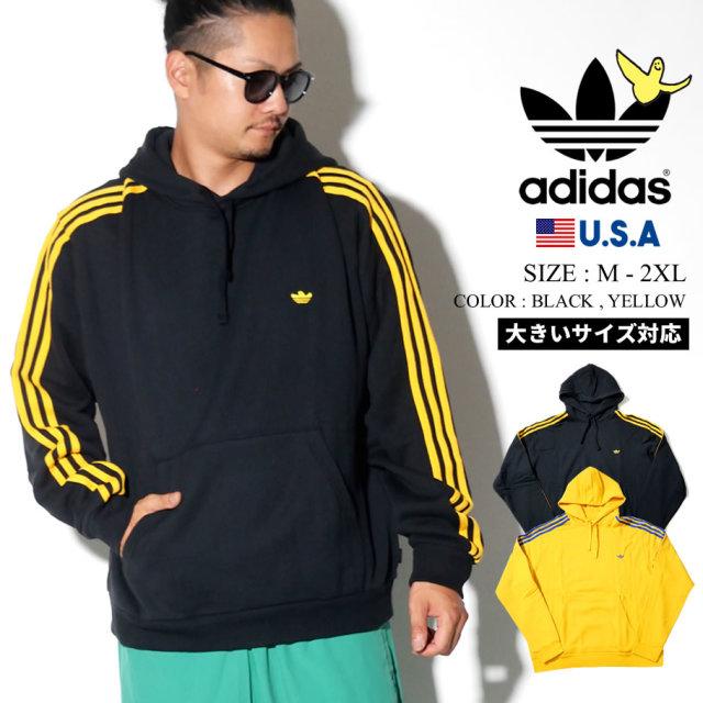 adidas originals アディダス オリジナルス パーカー メンズ 大きいサイズ Mark Gonzales マークゴンザレス コラボ ストリート系 スポーツ ファッション MINI SHMOO HOODIE 服 通販