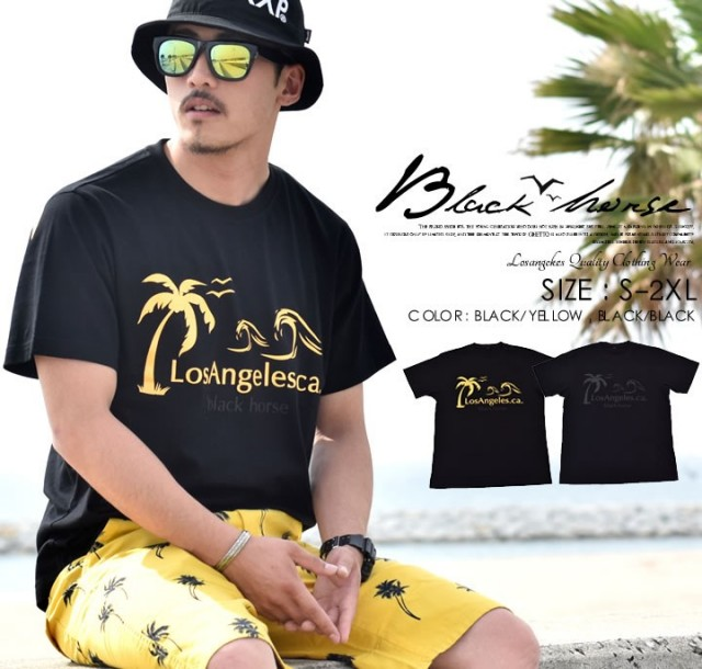 BLACK HORSE (ブラックホース) 半袖Tシャツ BHTT015