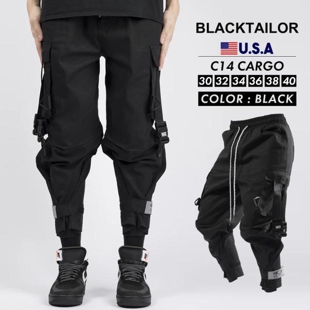BLACKTAILOR ブラックテイラー カーゴパンツ C14 CARGO ストリート ファッション btdt001