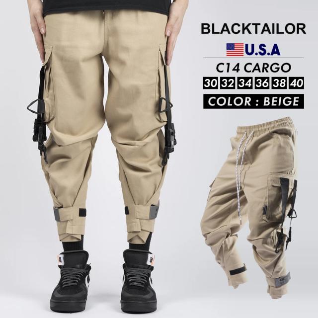 BLACKTAILOR ブラックテイラー カーゴパンツ C14 CARGO ストリート ファッション btdt002