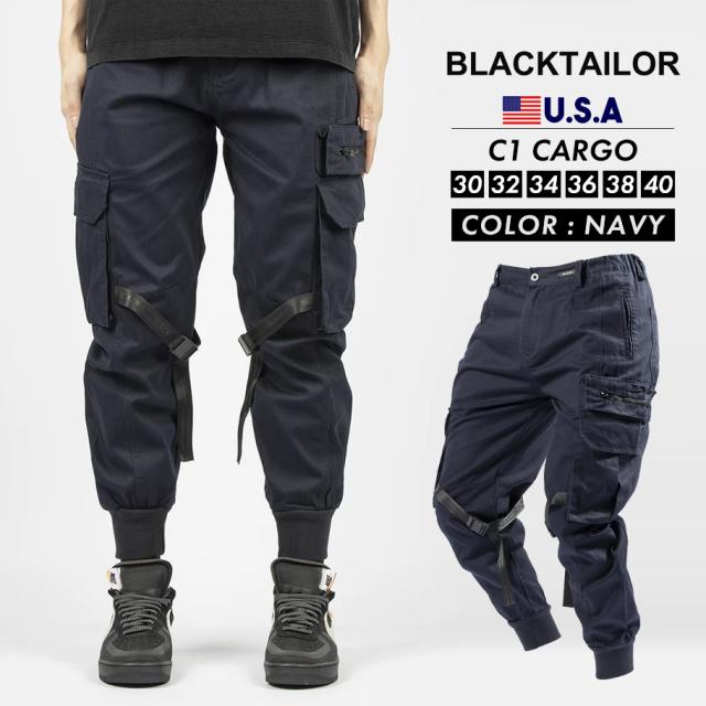 BLACKTAILOR ブラックテイラー カーゴパンツ C1 CARGO ストリート ファッション btdt003