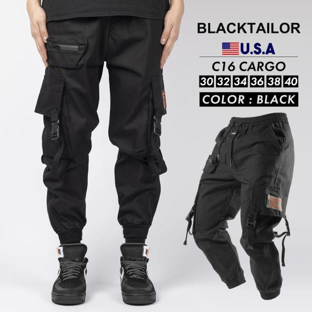 BLACKTAILOR ブラックテイラー カーゴパンツ C16 CARGO ストリート ファッション btdt004