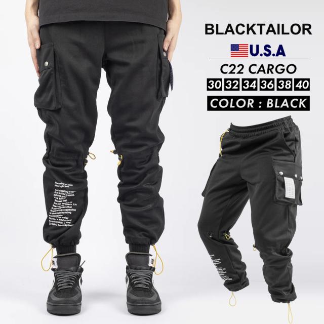 BLACKTAILOR ブラックテイラー カーゴパンツ C22 CARGO ストリート ファッション btdt005