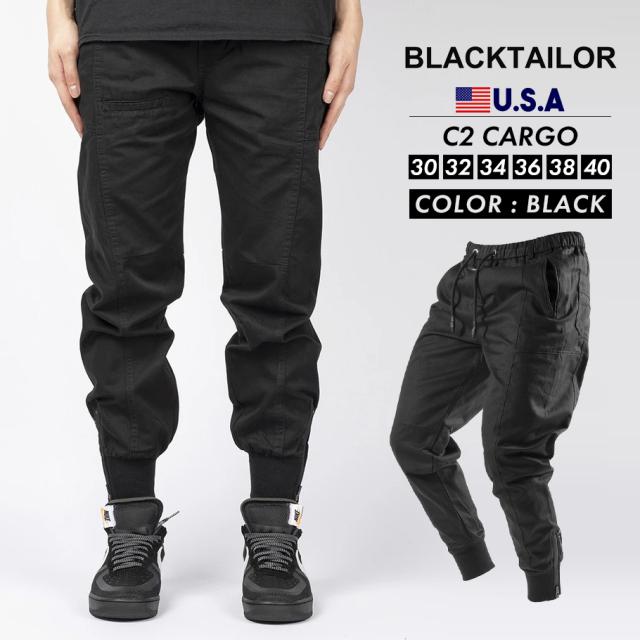 BLACKTAILOR ブラックテイラー カーゴパンツ C2 CARGO ストリート ファッション btdt006