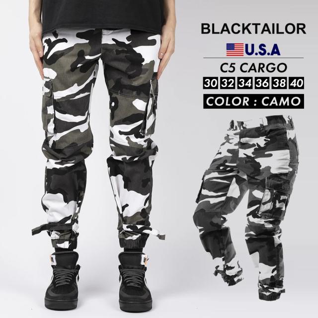 BLACKTAILOR ブラックテイラー カーゴパンツ C5 CARGO ストリート ファッション btdt008