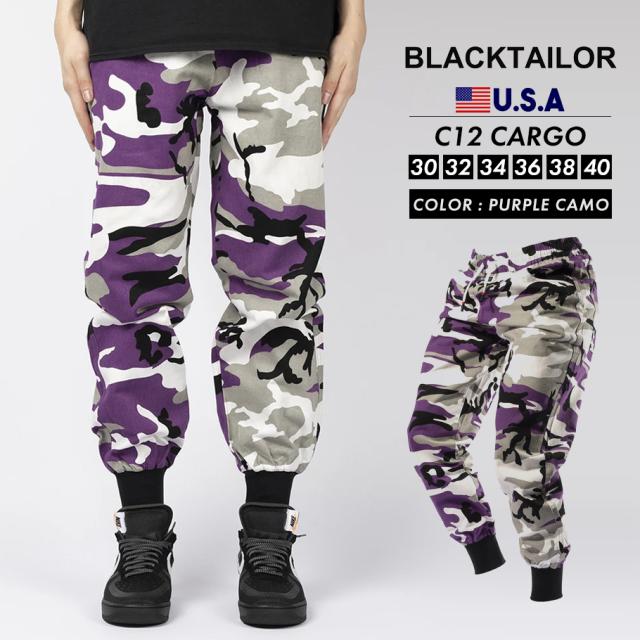 BLACKTAILOR ブラックテイラー カーゴパンツ C12 CARGO ストリート ファッション btdt009