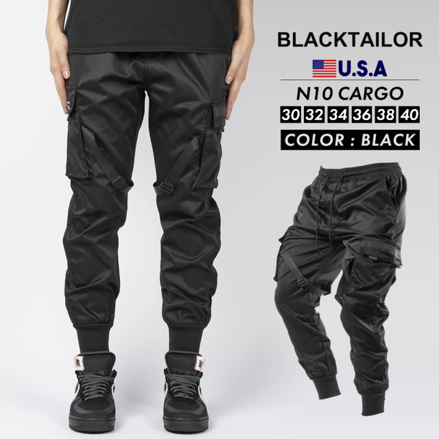 BLACKTAILOR ブラックテイラー カーゴパンツ N10 CARGO ストリート ファッション btdt011