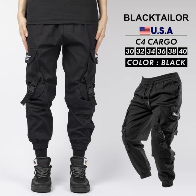 BLACKTAILOR ブラックテイラー カーゴパンツ C4 CARGO ストリート ファッション btdt012