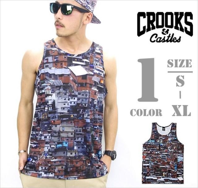 b系ストリート系メンズファッション通販 CROOKS&CASTLES タンクトップ I1450104
