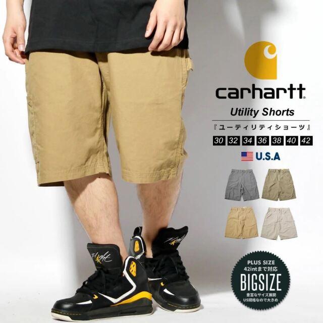 Carhartt カーハート ハーフパンツ ショートパンツ メンズ USAモデル キャンバスワークショーツ B147