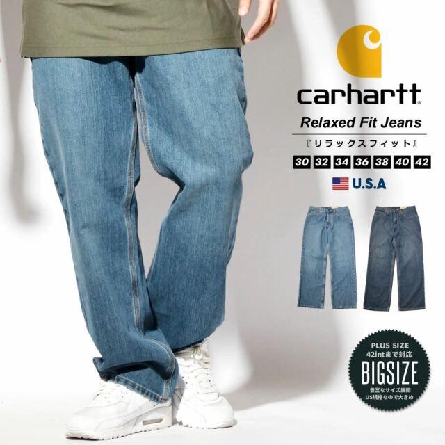 Carhartt カーハート ジーンズ デニムパンツ メンズ USAモデル リラックスドフィット ホルタージーン 101483
