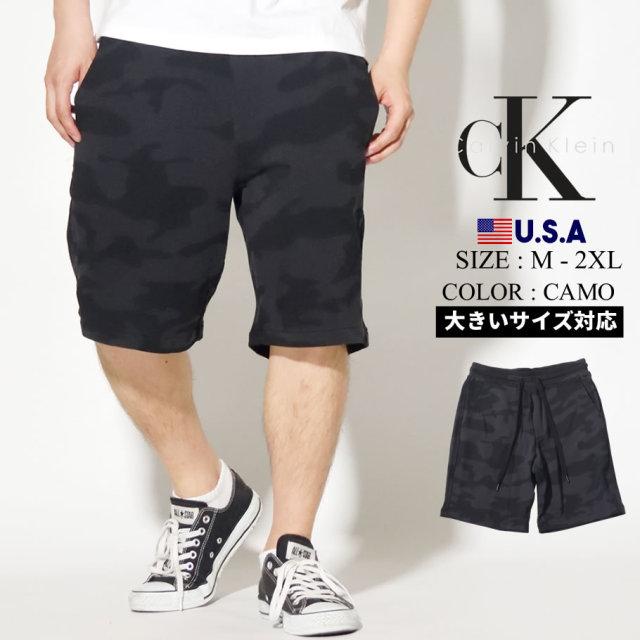 Calvin Klein カルバンクライン ハーフパンツ メンズ 迷彩柄 カモフラ CAMO SHORT 40VM840