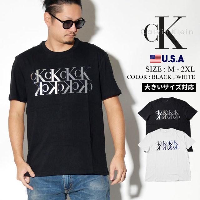 CALVIN KLEIN カルバンクライン Tシャツ メンズ CK ロゴ カジュアル ストリート系 ファッション 41T0136 服 通販