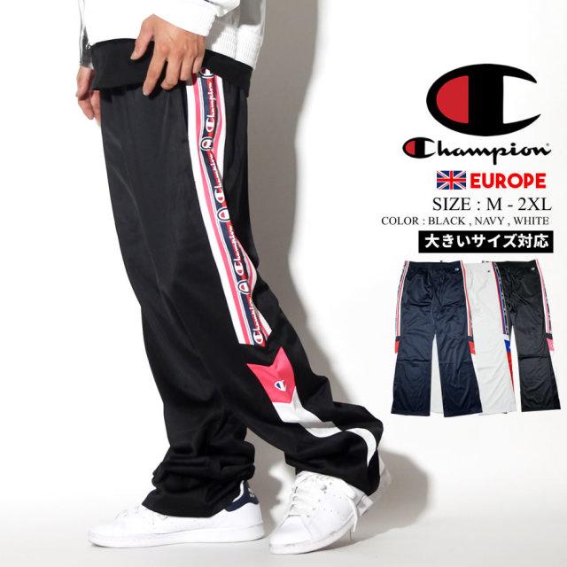 チャンピオン Champion ジャージ パンツ メンズ 大きいサイズ ロゴ ストリート系 ヒップホップ ファッション 213049 服 通販