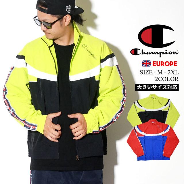 チャンピオン Champion トラックジャケット メンズ 大きいサイズ ロゴ ストリート系 ヒップホップ ファッション 213051 服 通販