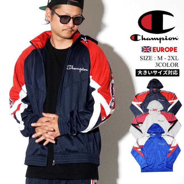 チャンピオン Champion ジャケット メンズ 大きいサイズ ロゴ ストリート系 ヒップホップ ファッション 213048 服 通販