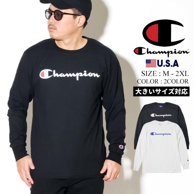 CHAMPION (チャンピオン) 長袖Tシャツ メンズ T2229P CPTT007