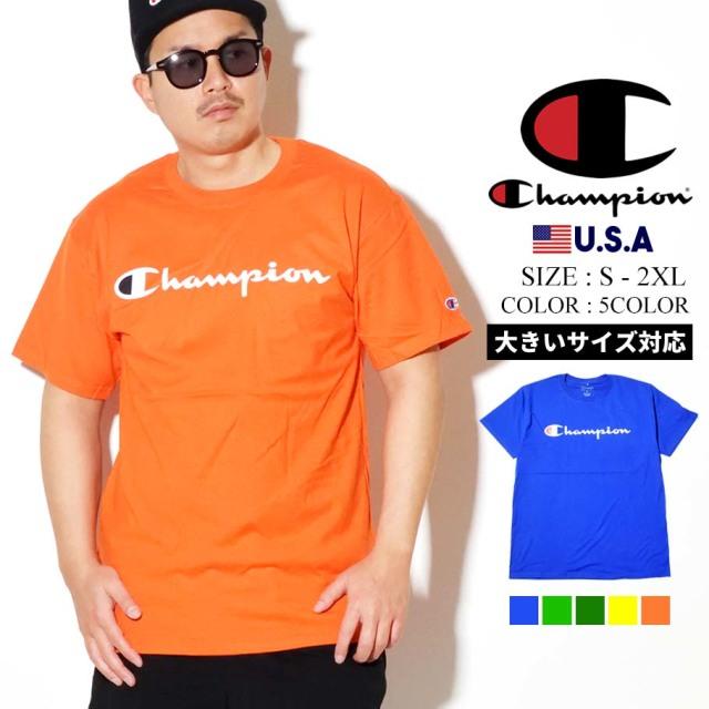 Champion チャンピオン 半袖Tシャツ メンズ 大きいサイズ CLASSIC GRAPHIC TEE GT23H Y07718