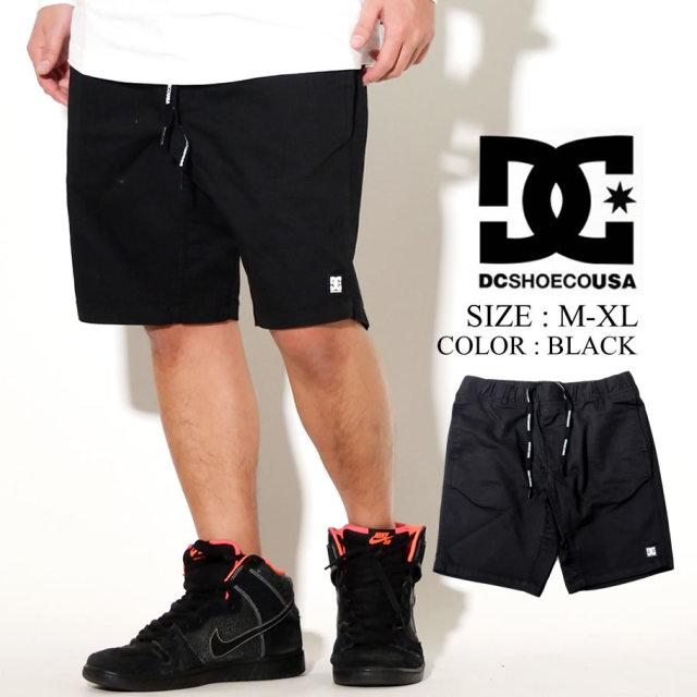 DC SHOES ディーシー ハーフパンツ ストレッチ リラックスシルエット 20 STRETCH CLOTH SHORT 5128J013 ブラック