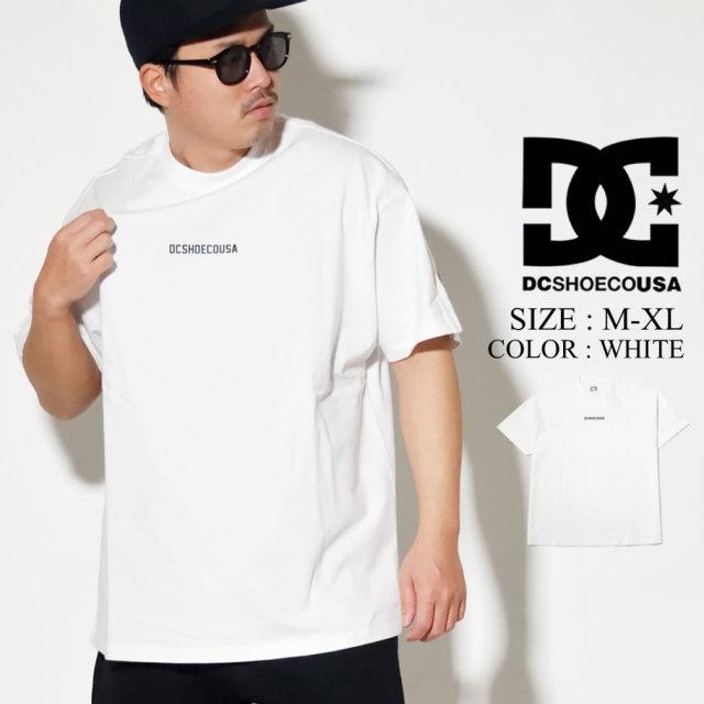 DC SHOES ディーシー シューズ Tシャツ メンズ 半袖 ホワイト ドルマンスリーブ 20 BACK REFLINE SS 5226J011