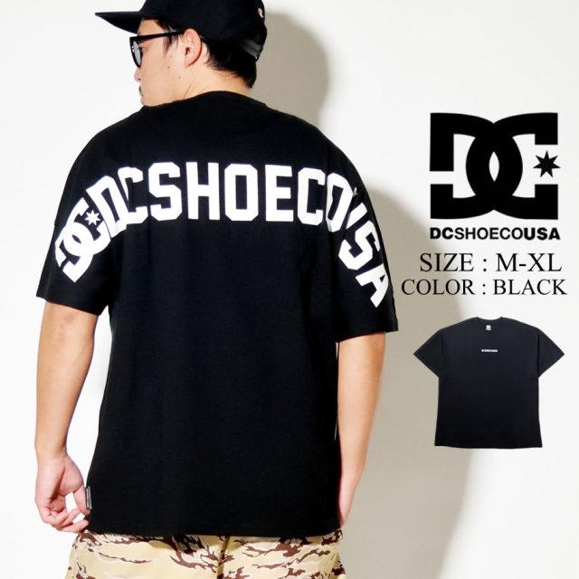 DC SHOES ディーシー シューズ Tシャツ メンズ 半袖 ブラック ドルマンスリーブ 20 BACK REFLINE SS 5226J011