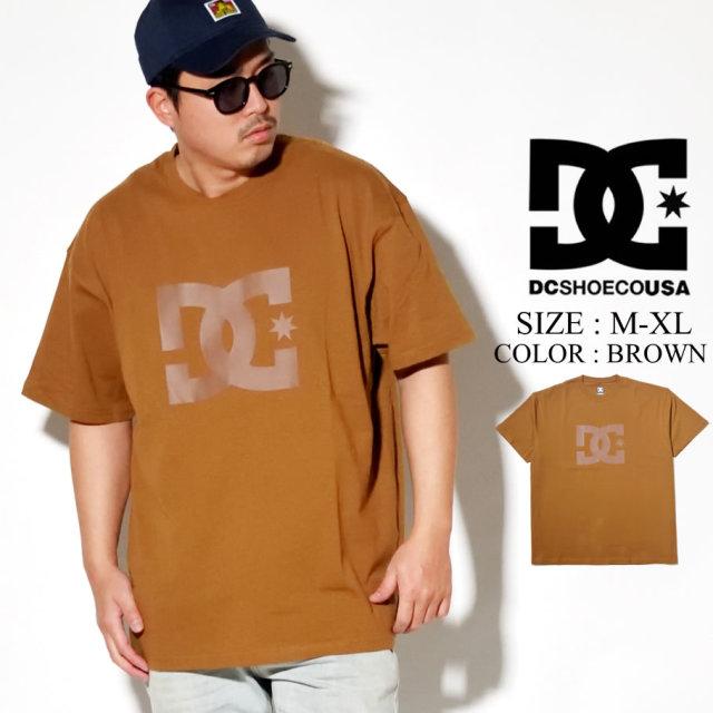 DC SHOES ディーシー シューズ Tシャツ メンズ 半袖 ブラウン 20 STAR WIDE SS 5226J003