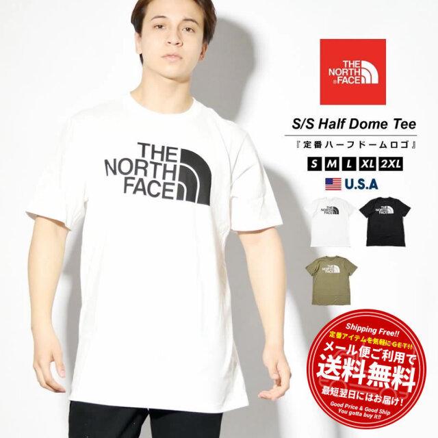 ザ・ノースフェイス THE NORTH FACE Tシャツ メンズ レディース 半袖 ブランド カットソー クルーネック ロゴ S/S HALF DOME TEE NF0A4M4P 2021S/S 春夏 新作