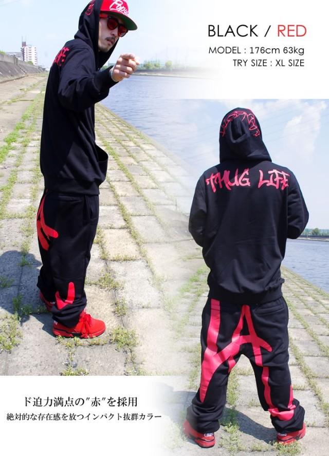 b系ストリート系メンズファッション通販 DOP DOP L/S セットアップ LA/サグライフ