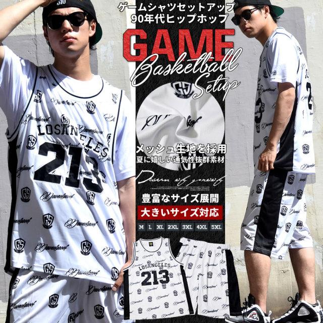 DOP ディーオーピー ゲームシャツ セットアップ メンズ 大きいサイズ ロゴ ナンバリング b系 hiphop ヒップホップ ファッション DPST154
