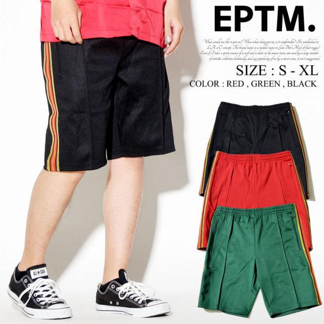 EPTM エピトミ トラックパンツ ハーフパンツ ショーツ サイドライン EPDT004