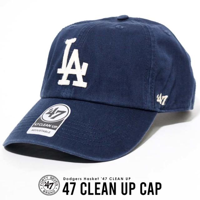 47 Brand (フォーティーセブン) キャップ 帽子 ロサンゼルス・ドジャース  Los Angeles Dodgers LAD MLB ロゴ (HSKET12GWS)
