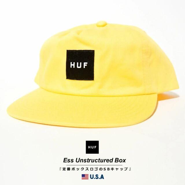 HUF ハフ キャップ 帽子 メンズ レディース USAモデル エッセンシャルアンストラクチャードボックススナップバック ゴールデンスパイス HT00544 2021 春夏 新作