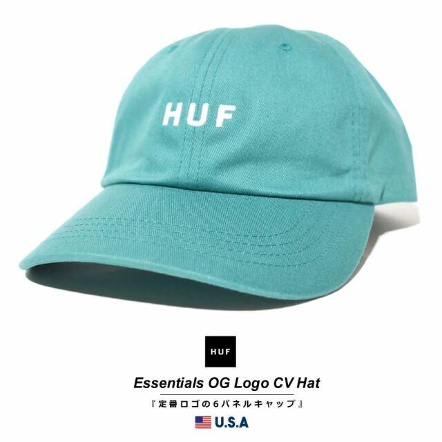 HUF ハフ キャップ 帽子 メンズ レディース USAモデル エッセンシャルズOGロゴCVハット シカモア HT00345 2021 春夏 新作