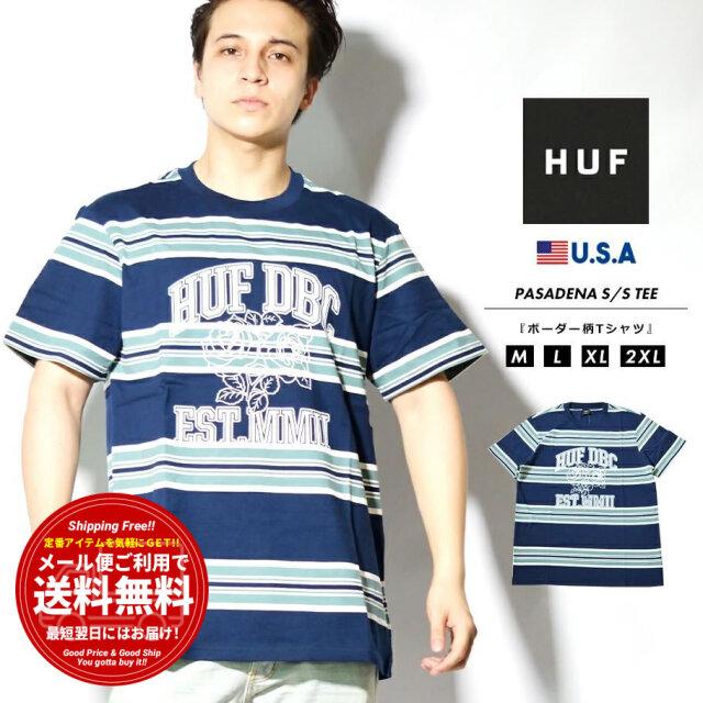 HUF ハフ Tシャツ メンズ 半袖 ブランド USAモデル PASADENA S/S KNIT TOP KN00291
