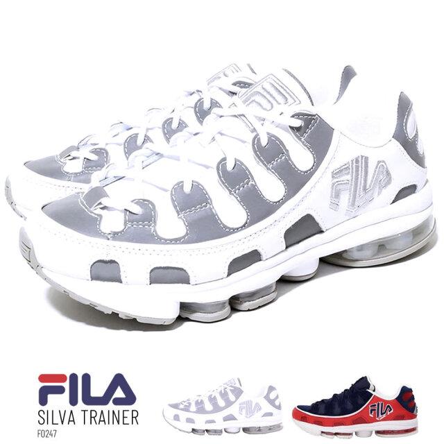 フィラ FILA スニーカー メンズ シルバ トレイナー F0247