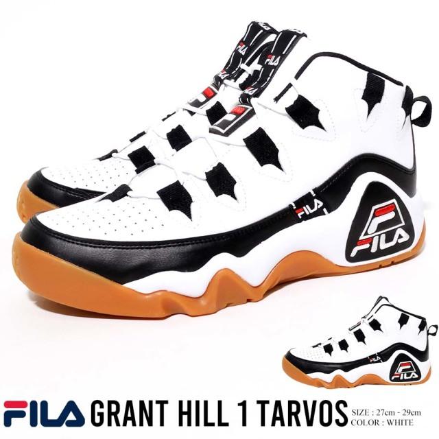 FILA フィラ グラントヒル 1 タルボス スニーカー GRANT HILL 1 TARVOS 靴 F0476BALL OVERALLS MINERAL BLACK STR CTN (85653-0001)