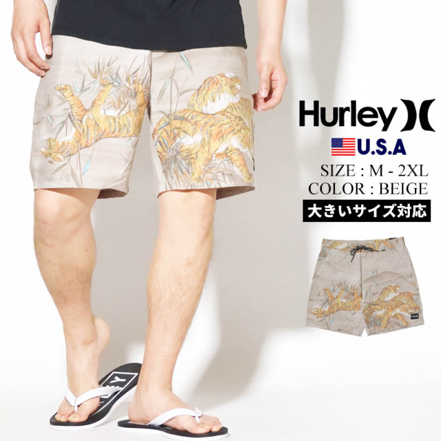 HURLEY ハーレー 水着 スイムパンツ メンズ サーフ系 ストリート ファッション BEACHSIDE ISLANDER 18 CJ6260