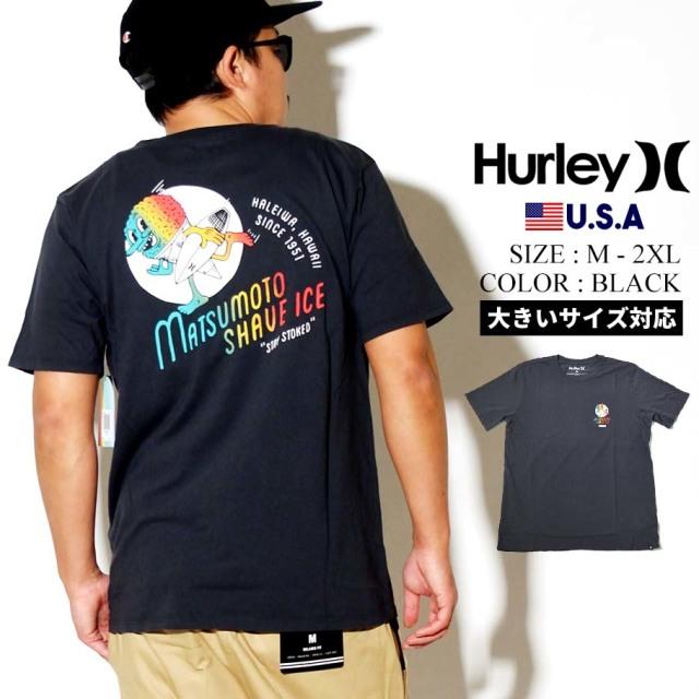 Hurley ハーレー 半袖 Tシャツ メンズ MATSUMOTO SHAVE ICE SHORT SLEEVE TEE CQ0982