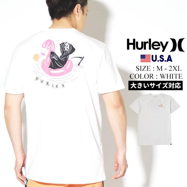 HURLEY ハーレー Tシャツ メンズ 半袖 サーフ系 ストリート ファッション ホワイト TAKE IT EASY SHORT SLEEVE CQ8569