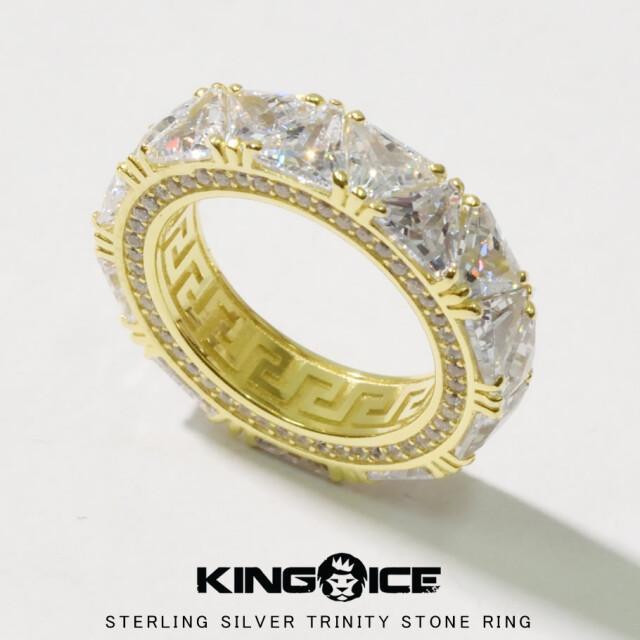 KING ICE キングアイス 14K GOLD ゴールド 金 リング 指輪 ブリンブリン hiphop ヒップホップ ジュエリー RGX14073 kiat092