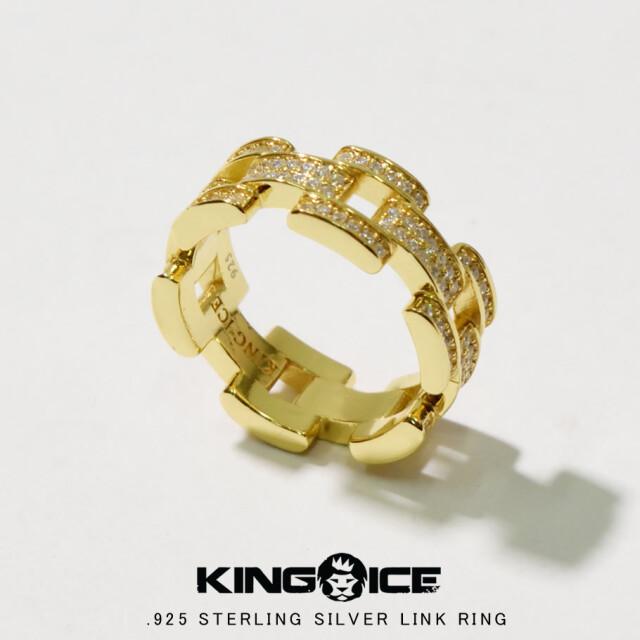 KING ICE キングアイス 14K GOLD ゴールド 金 リング 指輪 ブリンブリン hiphop ヒップホップ ジュエリー RGX12125 kiat097